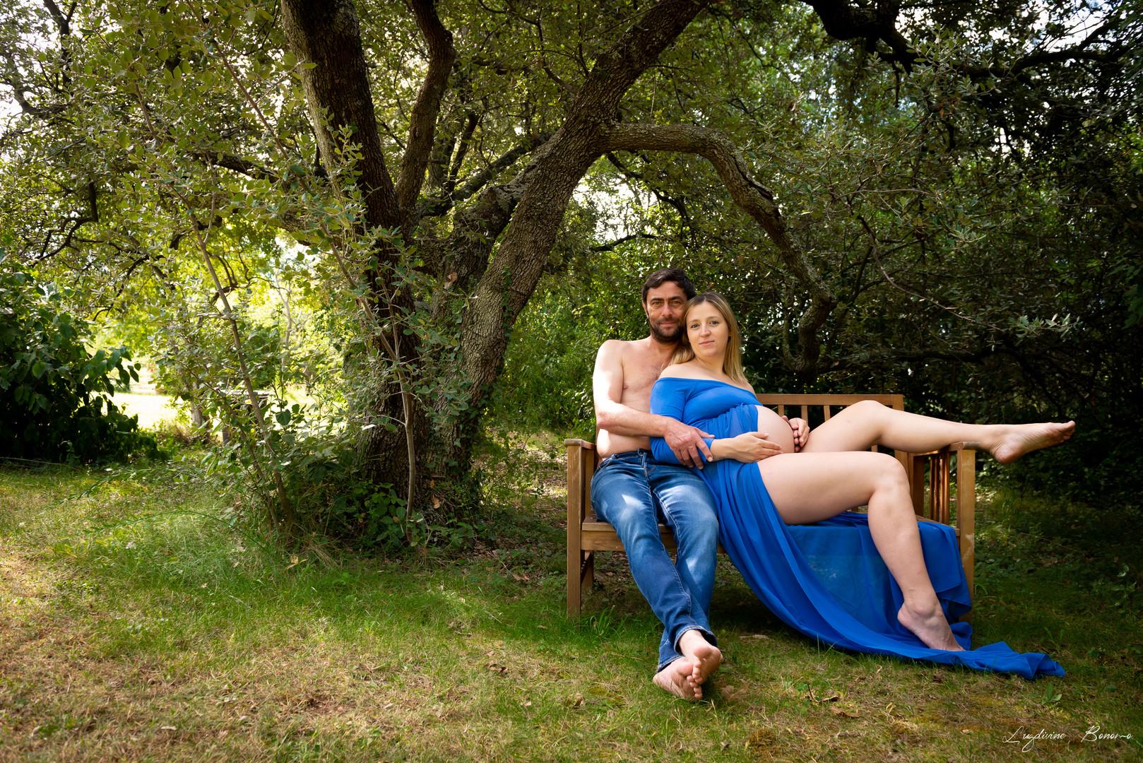 photographe extérieur nature maternité aix en provence