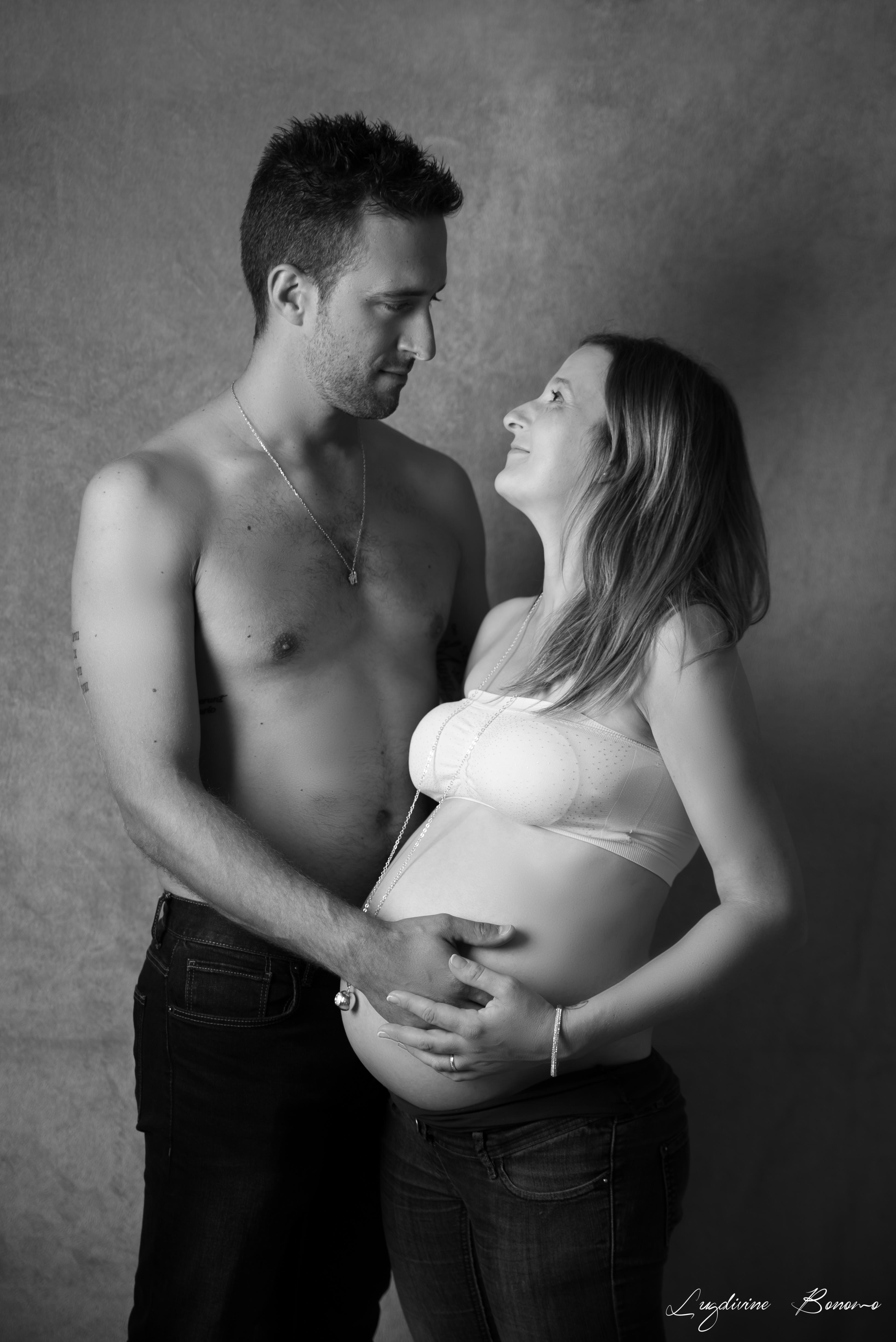 studio couple grossesse