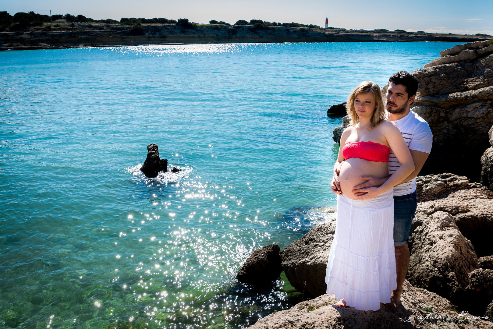 photographe extérieur nature maternité gardanne bord de l'eau plage