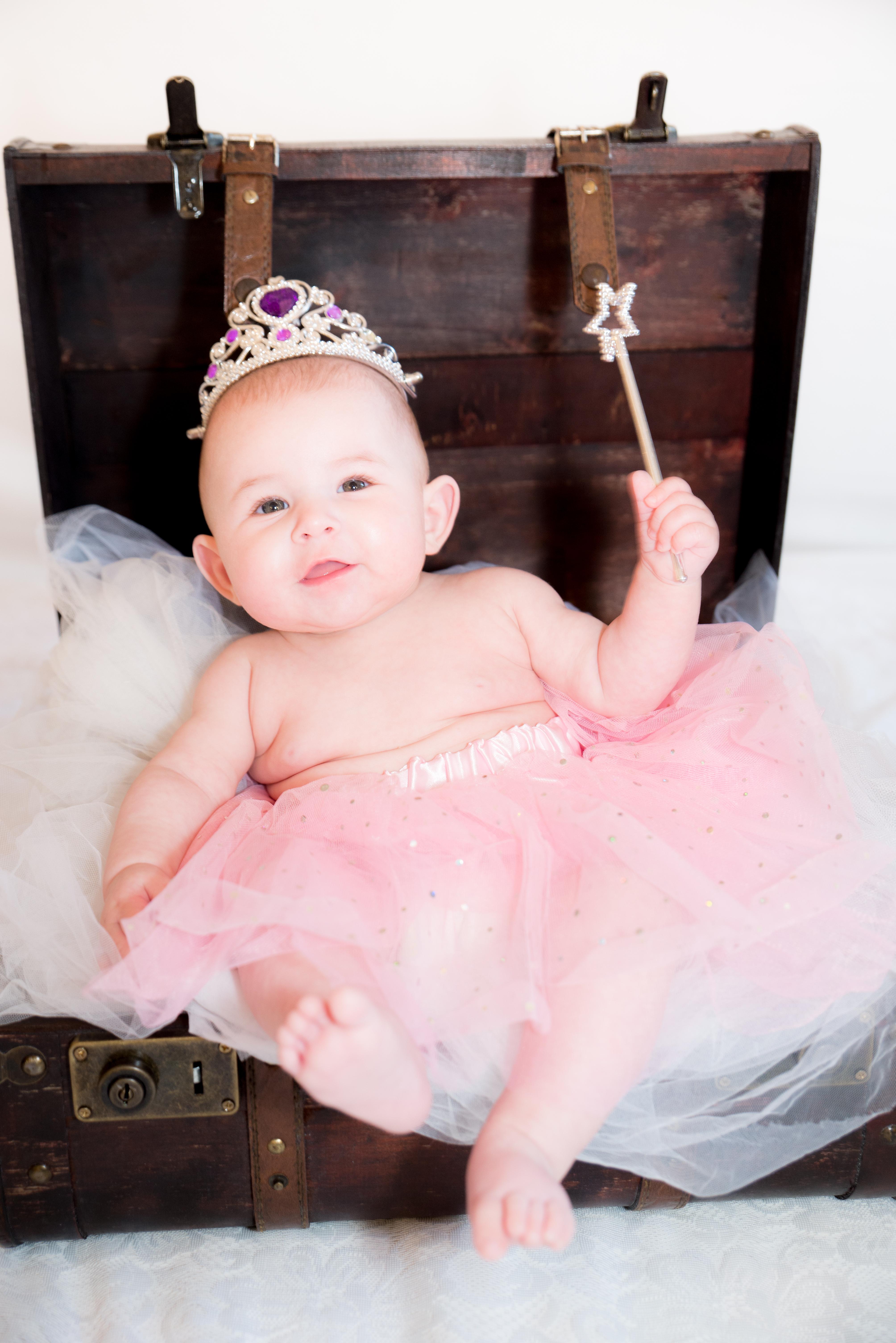 séance photo bébé 6 mois studio