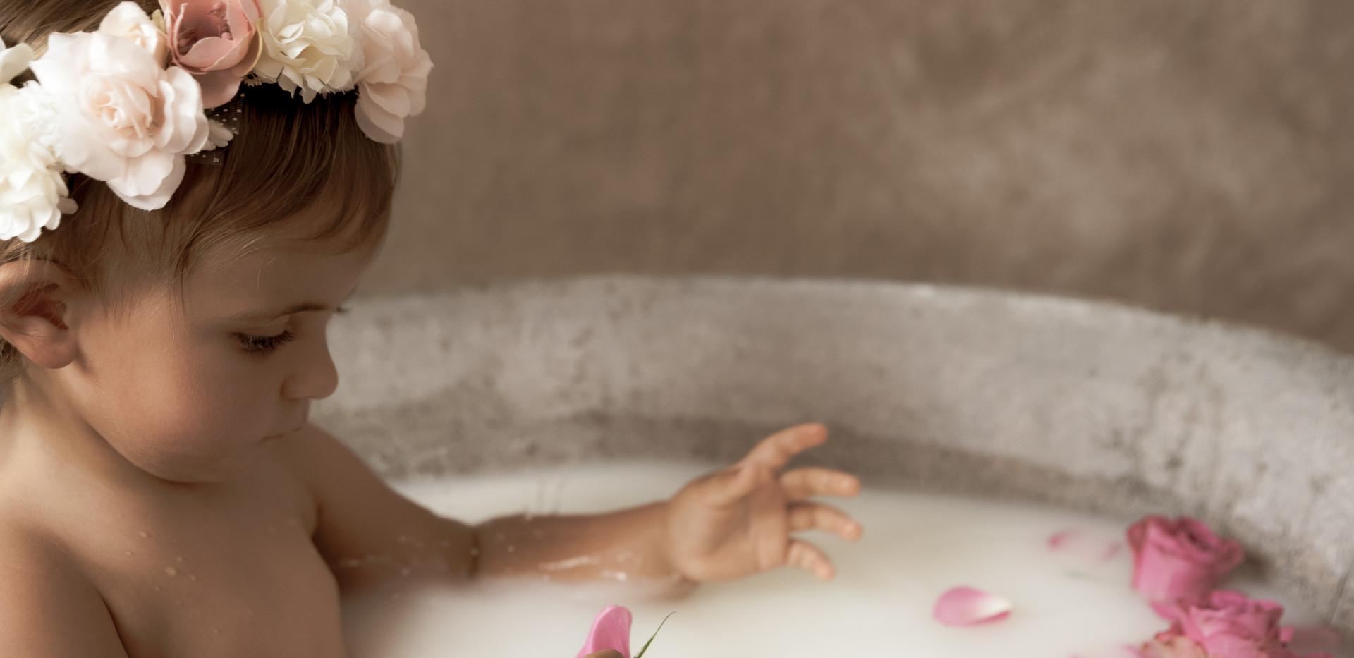 bain de lait bébé photographe marseille