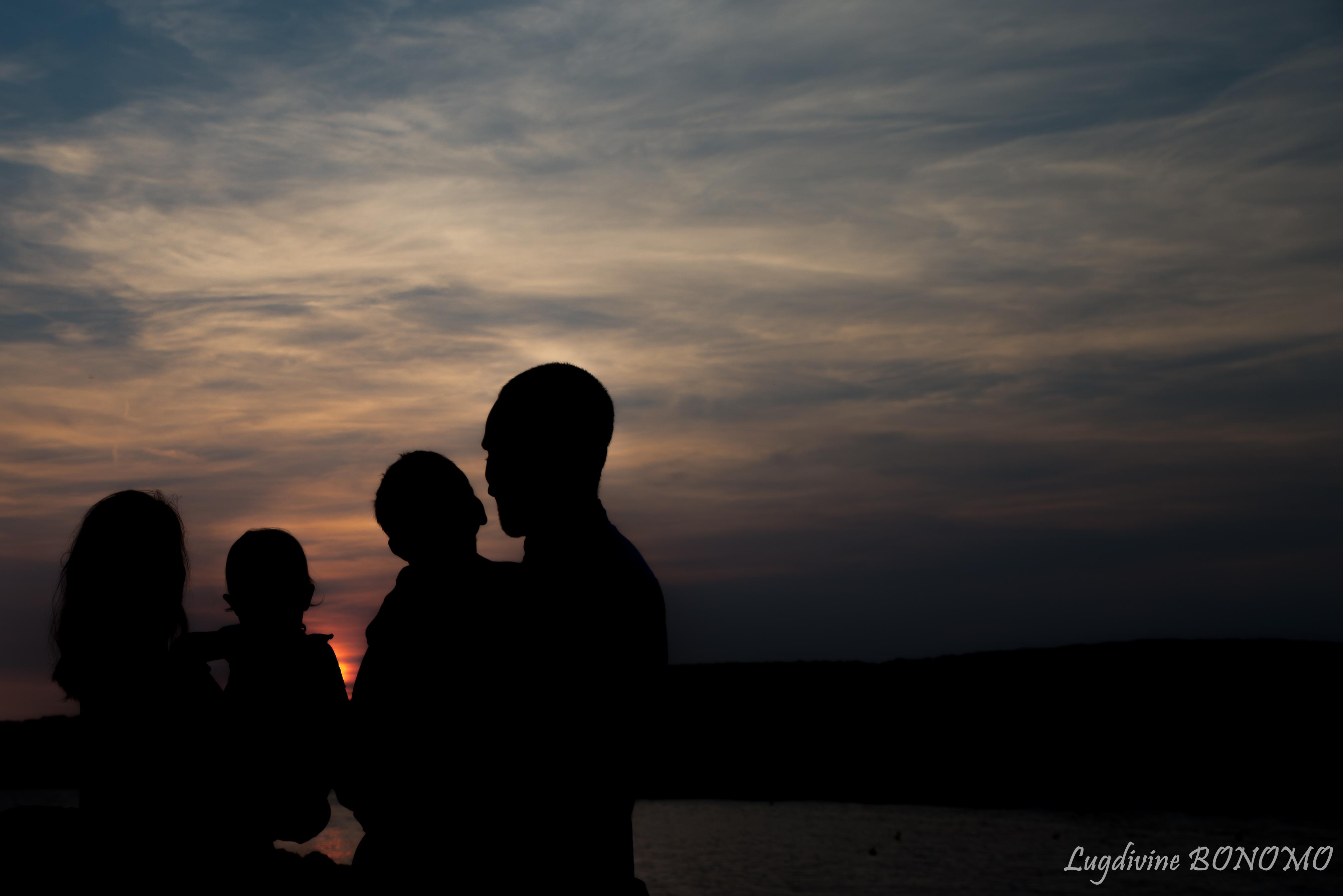 séance photo famille plage