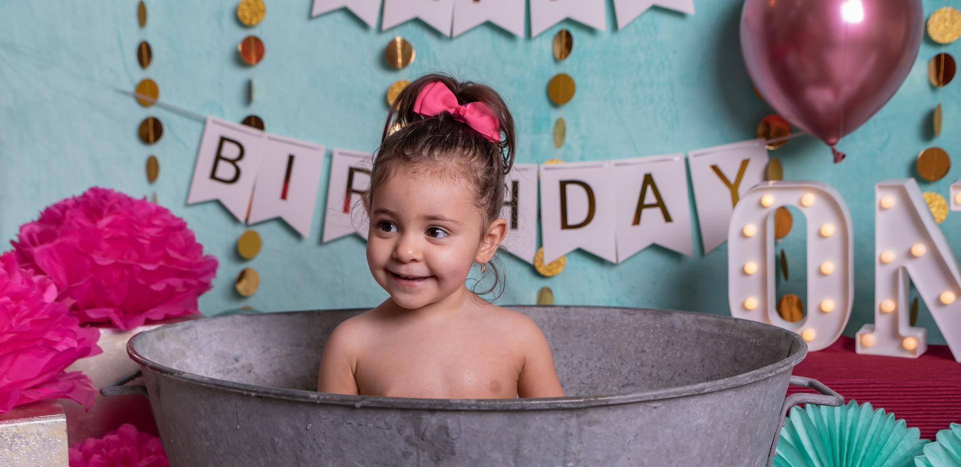 bain de lait bébé photographe marignane