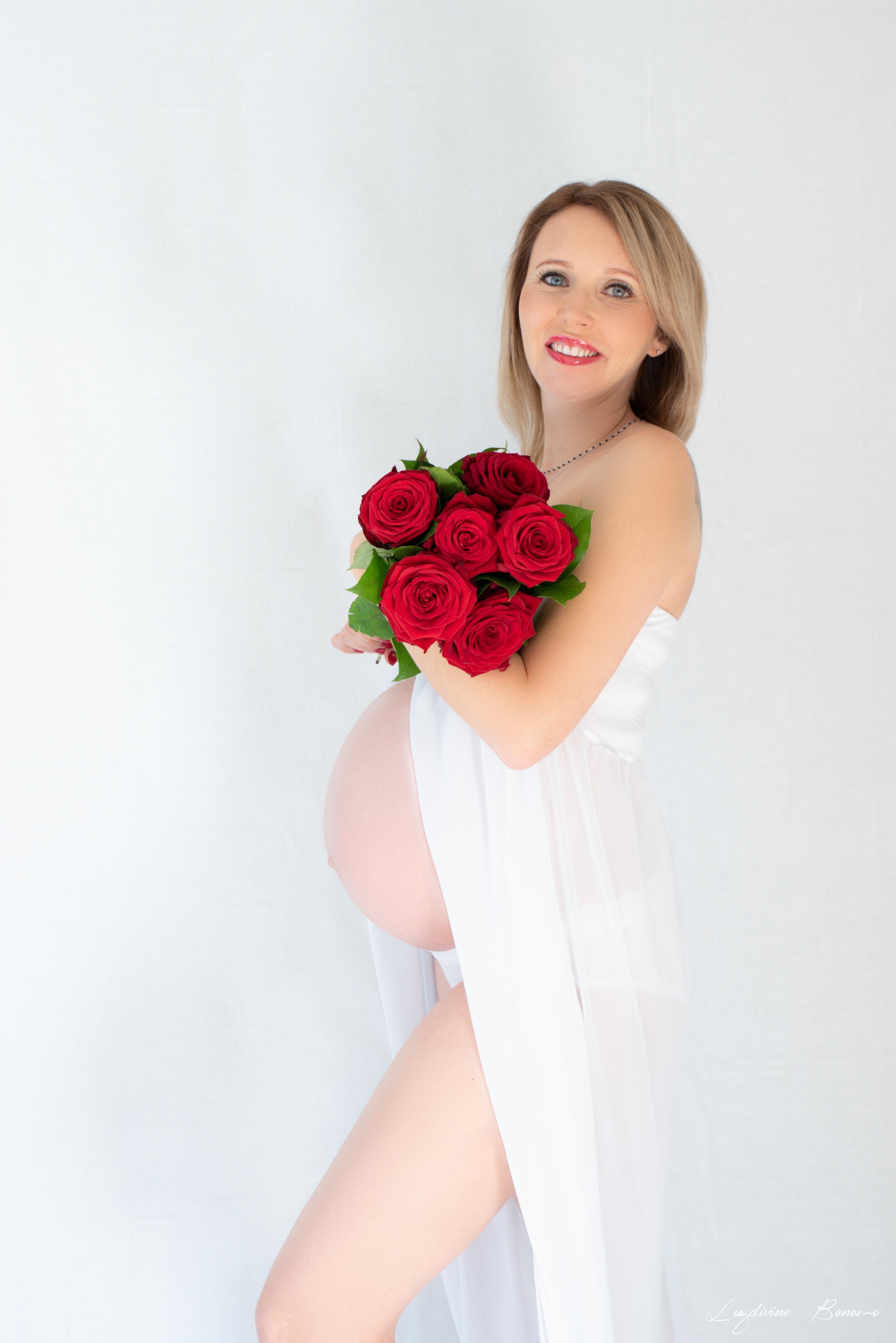 grossesse studio robe femme PACA