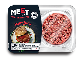 Pack of Meet Co Burgers product   The Meet Co