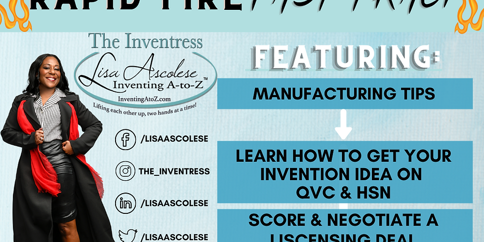 Inventing A To Z: Rapid Fire Fast Track Course