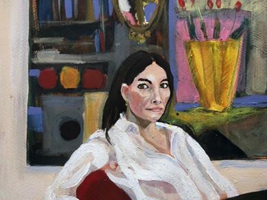 Danmarks bedste portræt maler  Ellen Hillensøe 2019