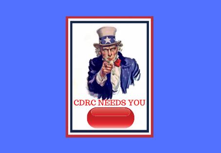 CDRC needs you – volunteer