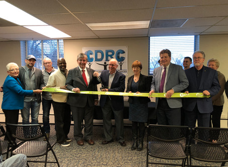 Ribbon cutting at the opening ceremonies – photos