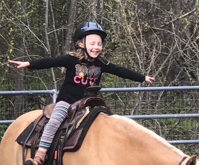 Littles Riding Lesson