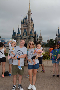 Eddie & Angela Wallace & Princesses