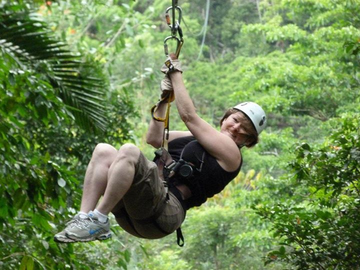 Zip Lining in Jamaica