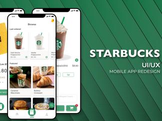 Starbucks Mobile App Redesign