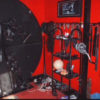 Red Room with Toys