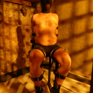 Bondage Chair in Prison Cell