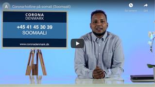 Spørgsmål om corona og vacciner på mange forskellige sprog