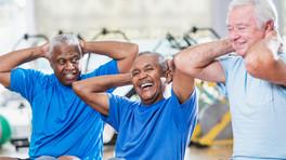 Let og sjov motion for mænd 60+