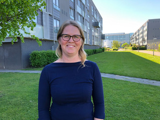 Julie vil inddrage brugerne i udviklingen af nye fællesarealer i Hørgården
