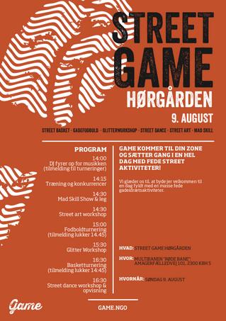 Street Game i Hørgården