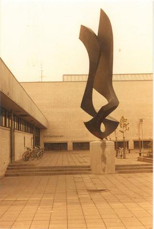 Skulpturen der genopstod