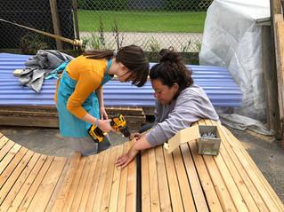 Lokale børn skaber byrumsmøbler