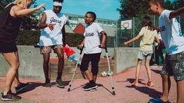 Gamezone i Hørgården: Streetdance, streetbasket og gadefodbold