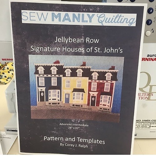 Jellybean Row Pattern