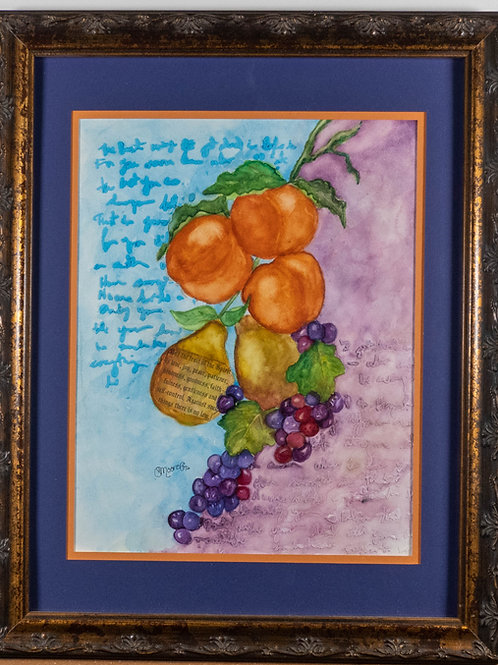 Fruit of the Spirit - In Store Pick Up or Arranged Shipping Only