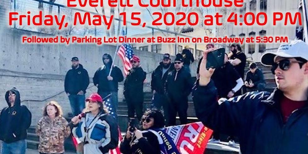 Rally to Re-Open Washington in Everett