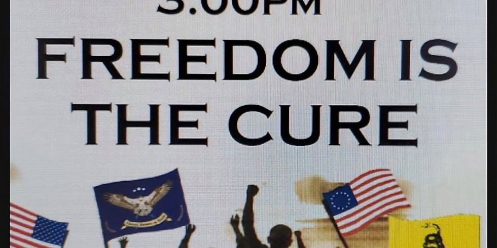 Matthew Shea's freedom is the Cure Rally