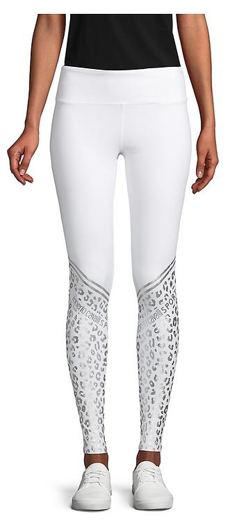 Metallic Leopard Print Legging