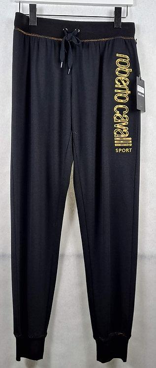 Embroidered Sweatpants w/ Metallic Stitching
