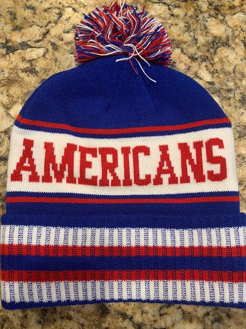 Affton Americans Custom Knit Beanies