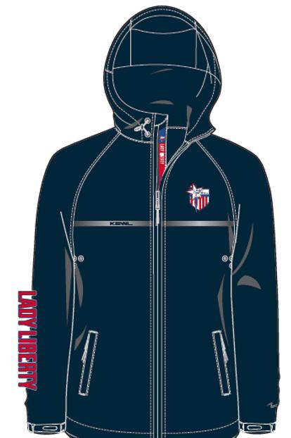 Lady Liberty Warm up Jacket