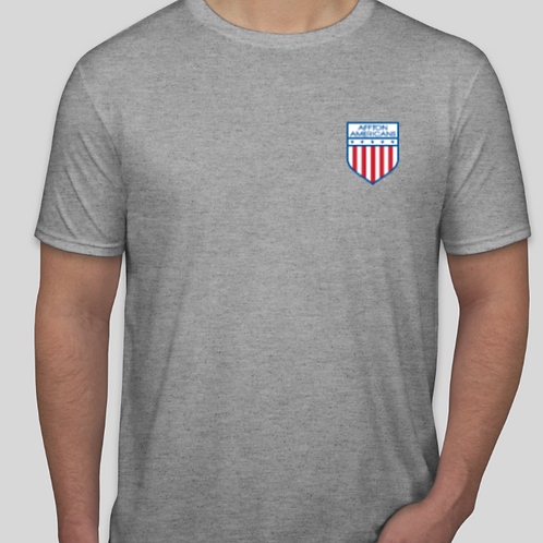 Adult Softstyle T-Shirt - left Chest Affton Classic Shield