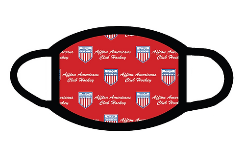 Affton American Sublimated Face Mask-Washable