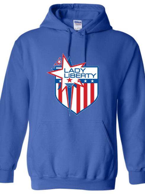 Lady Liberty Heavy Blend Hooded Sweatshirt