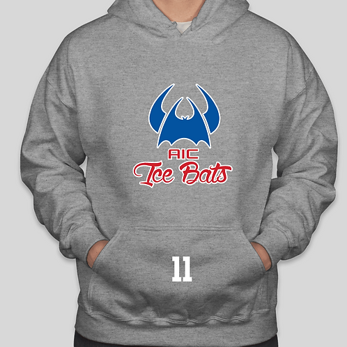 ADM Team Hooded Sweatshirt with Player Number on Front Pocket