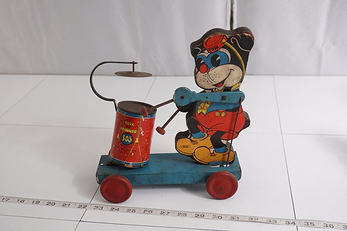 1936 Trix The Drummer Toy No 305 Made By Gong Bell Mfg