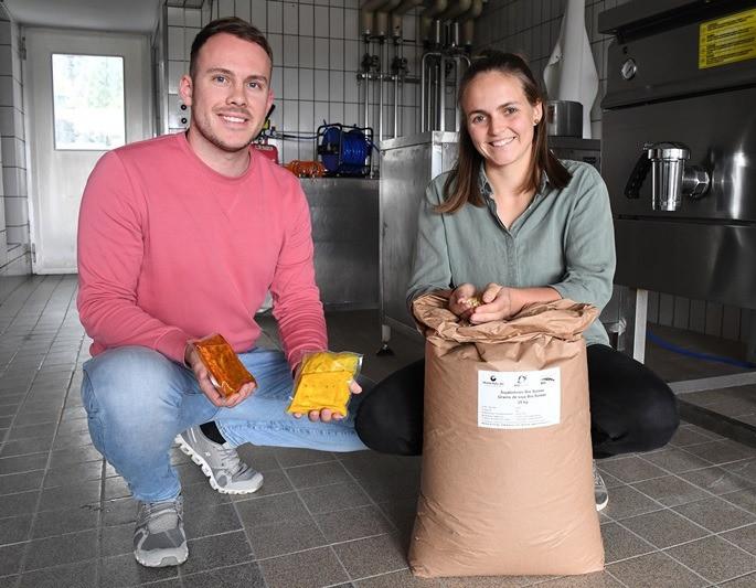 Simone Reinhart und Lukas Rösch produzieren in Amriswil ihren eigenen Tofu.