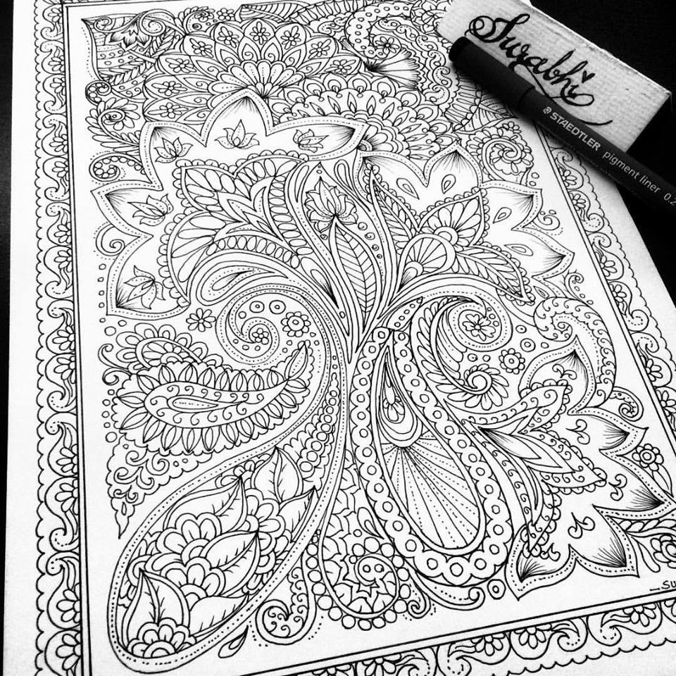 - Adult Coloring For Stress Relief