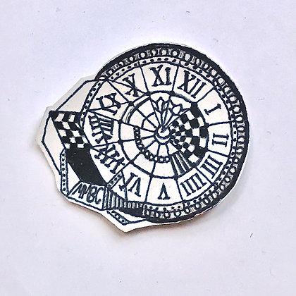 """Revived """"Time Teller"""" Sticker"""