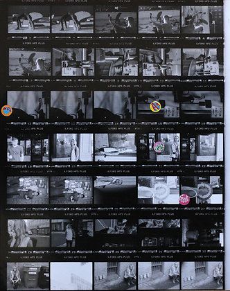 Contact Sheet Darkroom Process