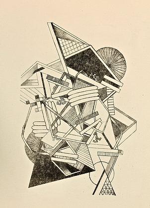 Litho Print Geometric