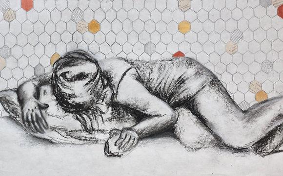 Andi III with Hexagons