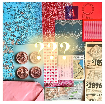 COLLAGE MYSTERY STARTER PACK!