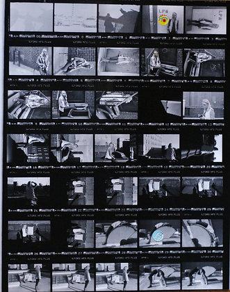 Contact Sheet Darkroom Process