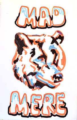 """Scare Bear"" From MAD MERE Mini Brand"