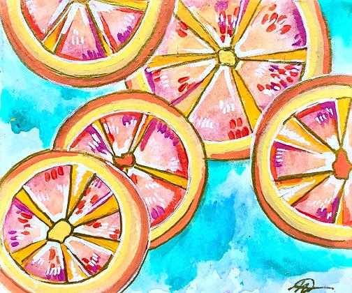 Starry Citrus