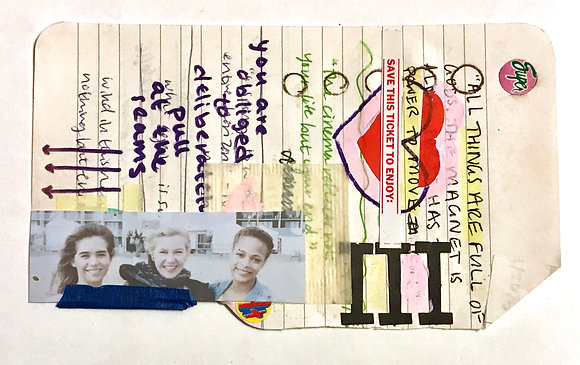 """Collage mini 06 from """"More Than Once""""series"""
